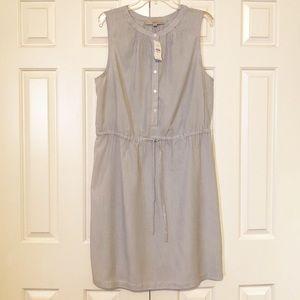 LOFT Dresses - Ann Taylor LOFT striped sleeveless dress. NWT. XL.